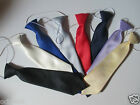 Baby Toddler Boys Elasticated Tie Blue White Lilac Red  NEW