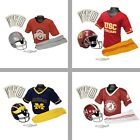 Choose Your NCAA Team Youth Deluxe Helmet and Uniform Set (Small or Medium)