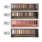 Hot Sale 12 Colors Urban Eye Shadow Palette Eyeshadow Makeup Brush Nude Nake 2/3