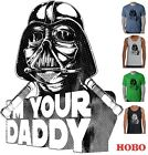 Funny T-shirts Star wars Darth Vader I'm your Daddy Dad Fathers day Men's size $19.99 AUD