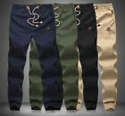 Mens Sweatpants Jogger Sportwear Baggy Harem Pants Slacks Cargo Trousers M-5XL