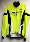Elite Super Roubaix CYCLING LONG SLEEVE JERSEY -Neon Yellow Made in Italy by GSG