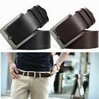 HOT Men's Genuine Leather Classic Casual Dress Pin Belt WaistBand Strap Belts