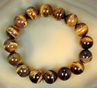 8mm 10mm 12mm 14mm 16mm Natural Yellow Tiger Eye Stone Beads Jewelry Bracelet