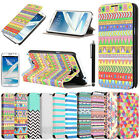 New Flip PU Leather Stand Case Cover Skin For Samsung Galaxy Note II 2 N7100