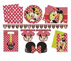 Disney MINNIE MOUSE FASHION Birthday Party Range Tableware Decorations Supplies