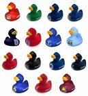 OFFICIAL FOOTBALL CLUB - Rubber DUCK (Bath Time/Toy/Novelty/Gift/Xmas) ALL TEAMS