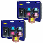 2 Sets of non-genuine Compatible Printer Ink Cartridges for HP No. 363 Range