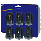 6 Black non-genuine Compatible Printer Ink Cartridges for HP No. 363 Range