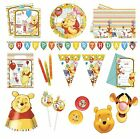 WINNIE THE POOH Sweet Treats Birthday PARTY RANGE (Partyware/Decoration)