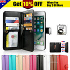 For iPhone 11 Pro XS MAX XR 8 7 Plus 6s Wallet Magnetic Flip Leather Case Cover