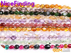 "6x8mm Freeform Potato Nugget Gemstone Beads For Jewelry Making 15"" Wholesale Lot"