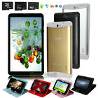 GSM 3G phablet 7'' Tablet Android 4.4.2 Dual SIM Smart Phone Bundle Case+TF Card