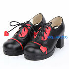#8063BR Sweet Gothic Punk KERA LOLITA shoes DOLLY Punk platform shoes 6.5cm heel