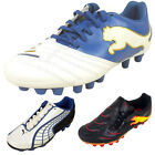 Boys Puma MG Multi Ground Football Boots Junior Sizes Soccer Boot Kids Size 10-6