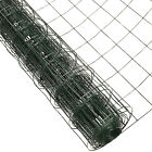Woodside Green PVC Coated Wire Mesh Border Fencing Rabbit Chicken Fence