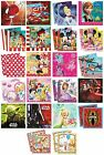 20 PARTY NAPKINS - Range of LICENSED CHARACTER DESIGNS (Birthday Supplies){Set2}