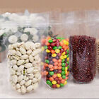 100 x Ziplock Grip Seal Bags Stand Up Pouch Clear Front Back - 98% Clarity