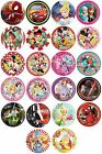 8 PAPER PLATES (23cm) LICENSED CHARACTER DESIGNS Range (Birthday Party){Set2}