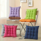 Comfortable Square Chair Seat Pad Filled Cotton Soft Cushion For Home &Office et