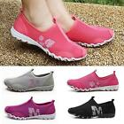 Unique Style Women Ventilate Casual Gym Walking Slip on Tennis Athletic Shoes