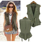2015 Hot style Women's Vest Sleeveless Coat Outerwear Tops Jacket Waistcoat