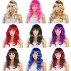 New 26'' Sexy Womens Long Curly Full Wig Party Cosplay Fancy Dress Costume Wigs
