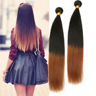 Ombre Hair Extensions Straight 1B/30# Brazilian Virgin Hair Weft New Hair Items