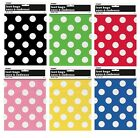 Polka Dots 8 LOOT BAGS (Decoration/Birthday/Celebration/Party)