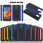Rugged Armor Hybrid Defender Hard Case Cover For Samsung Galaxy S5 Sport G860
