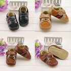 Infant baby boy crib shoes casual shoes Sports shoes size 0-6 6-12 12-18 months