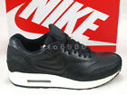 Nike Air Max 1 Leather PA Stingray Black Sea Glass Running Shoes NSW 705007-001