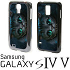 Cheshire Cat Samsung Galaxy S4 S5 Plastic Phone Case Alice in Wonderland New cc4