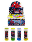 SPIDERMAN - BUBBLES (Choose Amount) Boys/Kids Party Bag Filler Loot Toys Spider