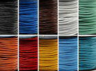 Wholesale 3M Real Leather Necklace Charms Rope String Cord 1.5 2.0 mm Any Color