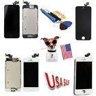 Touch Screen Glass Digitizer + LCD Assembly For iPhone 5 Replacement US + Tools