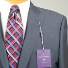 42S SAVILE ROW Slate Blue SUIT SEPARATE  42 Short Mens Suits - SS23