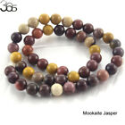 4 6 8 10 12MM Natural Gemstone Mookaite Round Loose Beads Spacers Wholesale Lots