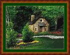 TRADITIONAL COTTAGE -14 COUNT CROSS STITCH CHART PDF/PRINTED FREE PP WORLDWIDE