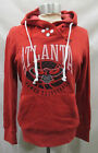 Atlanta Hawks Women Hooded Sweatshirt with Snaps on Collar   RED on eBay