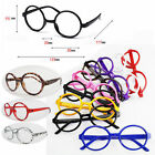 Unique Vintage Children Round Eye Glasses Plastic Frames Glass No Lens 2015 new