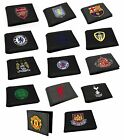 OFFICIAL FOOTBALL CLUB Stemma Ricamato In Alto PORTAFOGLIO Regalo/Money/Da uomo/