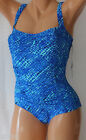 *NEW REAL Bodies Solutions Blue Swimsuit Sweetheart Tank size 8