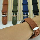 18/20/22/24mm Militray Sport Nylon Canvas Wrist Watch Band Replacement Strap Hot