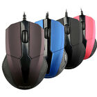 New Optical LED USB 2.0 Wired Gaming Mouse Mice Adjustable For PC Laptop Lovely