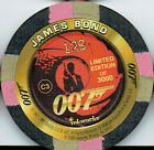 JAMES BOND THE WORLD IS NOT ENOUGH CASINO CHIP C3 $11.94 AUD