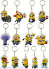 Despicable Me Minions Keyring Keylight Fireman Fruit Evil Maid Snorkle & More