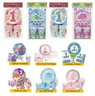 1st Birthday Party Pack for 8 - Tableware Set First Boy Girl Plates Cups Napkins
