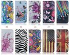 For SAMSUNG Classical Mobile cell phone leather case with card holder