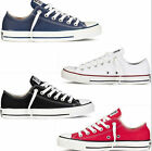 Womens Ladys Lace Up Casual Ox Low Top Shoes Canvas Sneakers Sz Flat Footwear